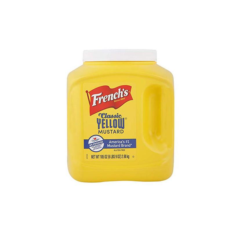 سس خردل فرنچ 3 کیلو French's Classic Yellow